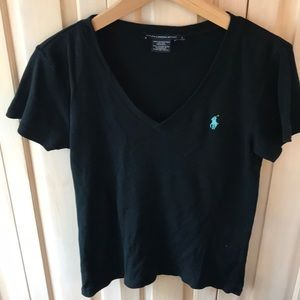 Woman's polo sport T-shirt size large